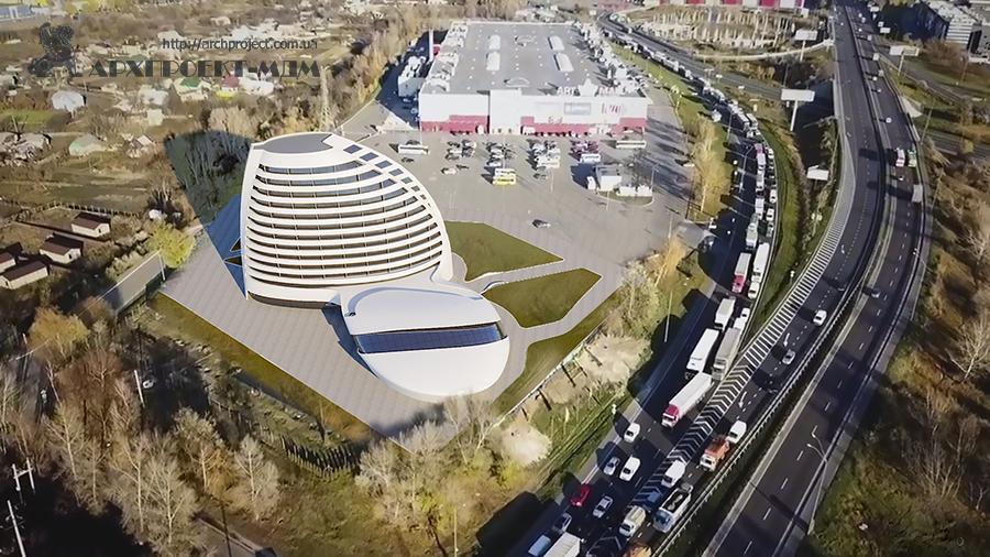 Проект гостиничного комплекса в Киеве