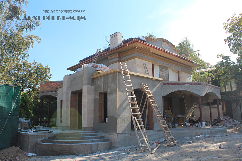 Private house reconstruction