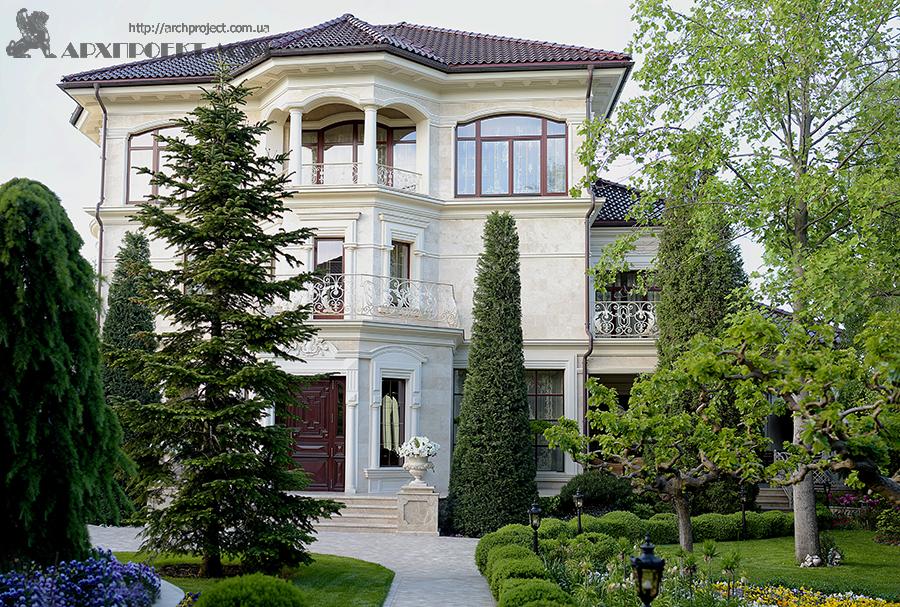 Mansion reconstruction