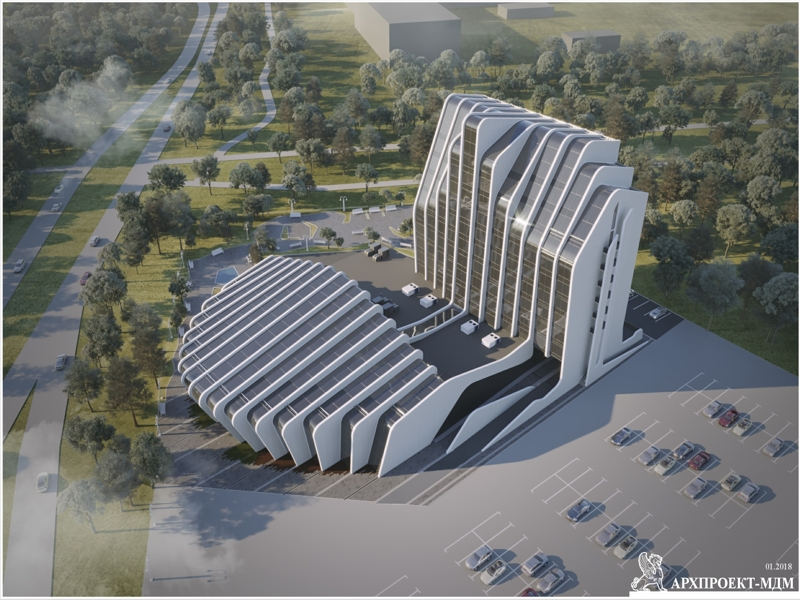 Hotel complex project in Kiev