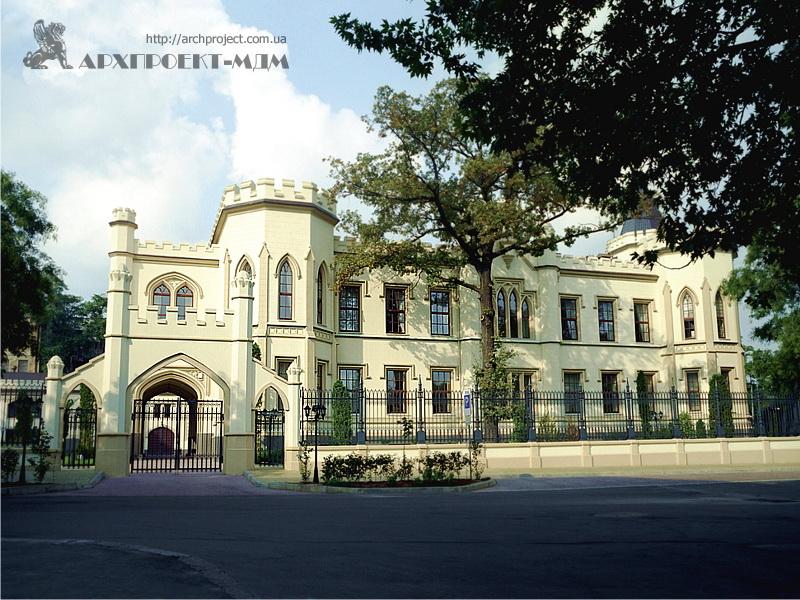 Шахський палац, вул. Гоголя, Одеса