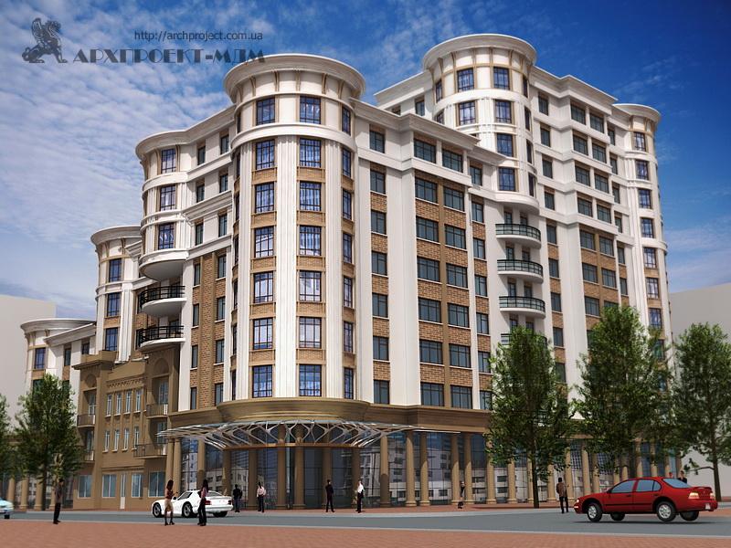 Residential building, st. Ekaterinenskaya, 88