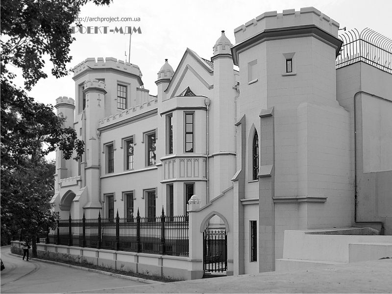Shah palace, st. Gogol, Odessa
