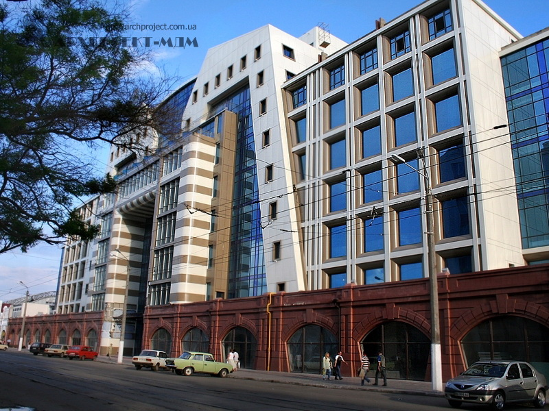Готель «Чорне море», ТЦ «Новий Привоз» – Одеса