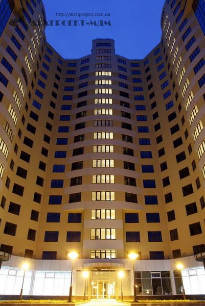 Residential building, Shevchenko Avenue, 33