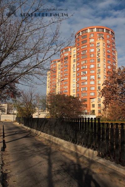 Residential complex, Shevchenko Ave., 4-d