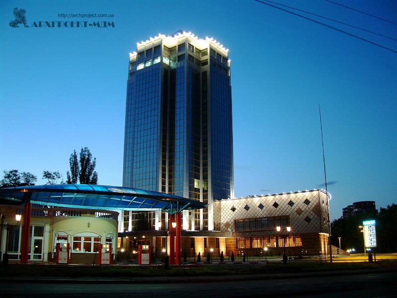 Office center, Gagarina ave., 10