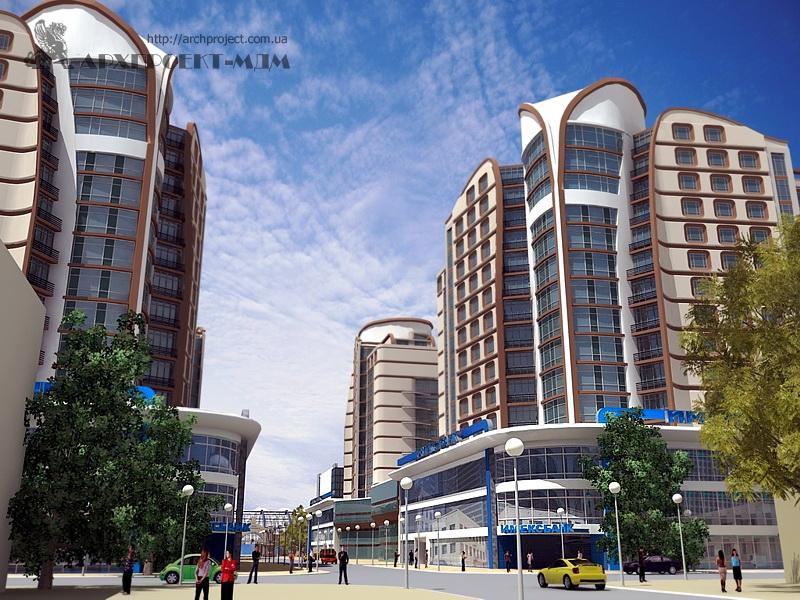 Residential apartment building, st. Malaya Arnautskaya 105