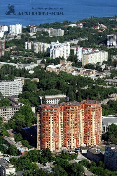 Жилой комплекс, пр. Шевченко, 4-д