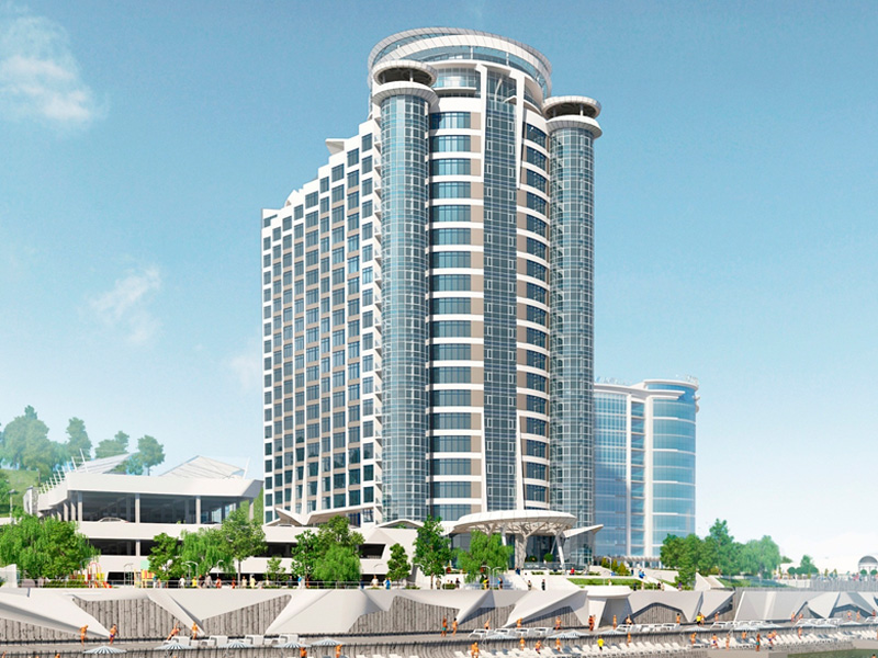 """Residential complex """"Sea Symphony"""""""
